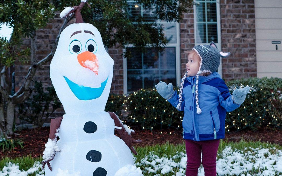 Maddie's Snow Day!